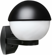Costaluz 307855-WALL 3078 Series Modern Black Exterior Wall Sconce
