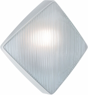 Costaluz 311053-FR 3110 Series Modern White Exterior Wall Sconce Lighting