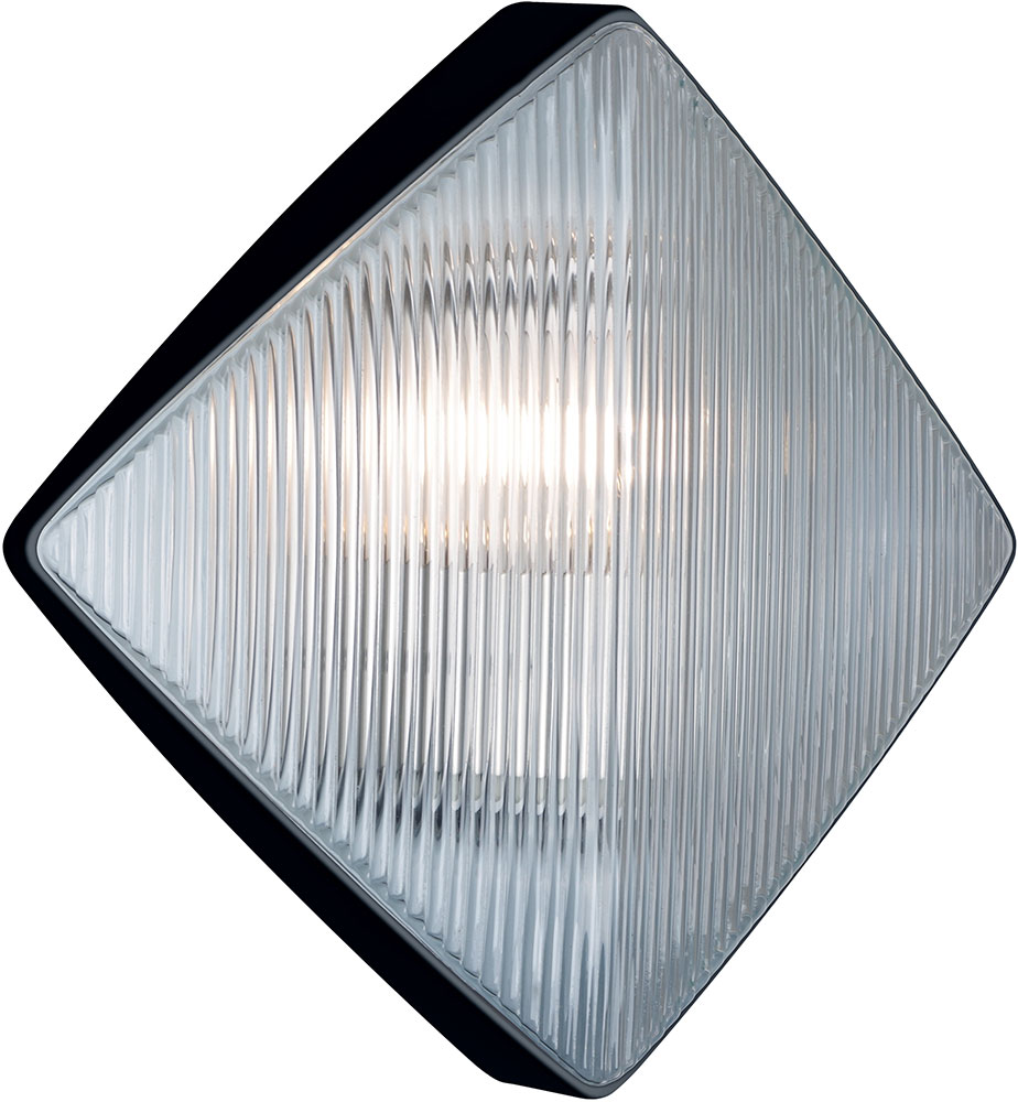 Costaluz 311057 3110 Series Modern Black Exterior Wall Light Fixture Coz 311057