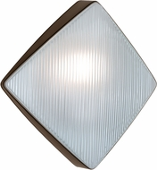 Costaluz 311098-FR 3110 Series Modern Bronze Exterior Wall Light Sconce
