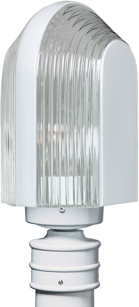 Costaluz 313953 post 3139 series contemporary white for Contemporary outdoor post light fixtures