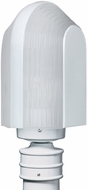 Costaluz 313953-POST-FR 3139 Series Modern White Frosted Exterior Post Lighting Fixture