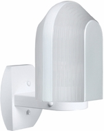 Costaluz 313953-WALL-FR 3139 Series Modern White Frosted Exterior Wall Light Sconce