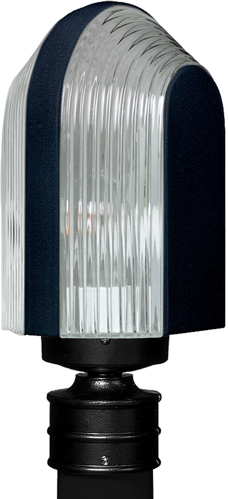 Costaluz 313957 post 3139 series contemporary black for Contemporary outdoor post light fixtures