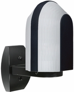 Costaluz 313957-WALL-FR 3139 Series Modern Black Frosted Exterior Wall Sconce