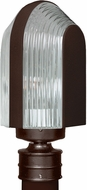 Costaluz 313998-POST 3139 Series Contemporary Bronze Outdoor Pole Lighting Fixture
