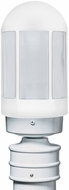 Costaluz 315153-POST-FR 3151 Series Modern White Frosted Exterior Lamp Post Light