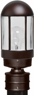 Costaluz 315198-POST 3151 Series Contemporary Bronze Outdoor Post Light Fixture