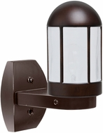 Costaluz 315198-WALL-FR 3151 Series Modern Bronze Frosted Exterior Wall Light Fixture