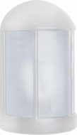Costaluz 315253-FR 3152 Series Contemporary White Frosted Outdoor Lighting Wall Sconce