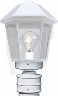 Costaluz 327253-POST 3272 Series Modern White Exterior Lamp Post Light Fixture