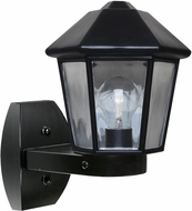 Costaluz 327257-WALL 3272 Series Modern Black Exterior Wall Lighting Fixture