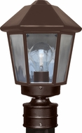Costaluz 327298-POST 3272 Series Modern Bronze Exterior Post Lamp