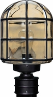 Costaluz 341756-POST 3417 Series Modern Black Exterior Post Light