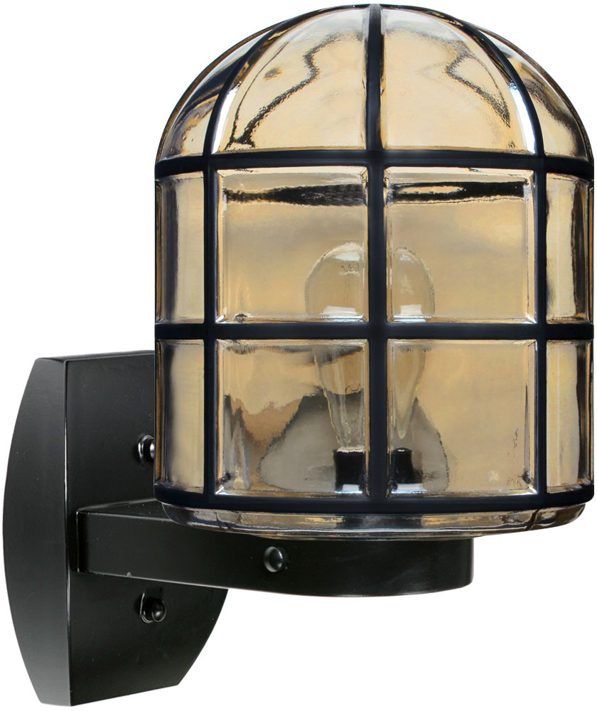 Costaluz 341756-WALL 3417 Series Contemporary Black Outdoor Wall Lamp - COZ-341756-WALL