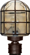 Costaluz 341797-POST 3417 Series Modern Bronze Exterior Lighting Post Light