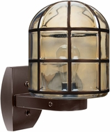 Costaluz 341797-WALL 3417 Series Contemporary Bronze Outdoor Wall Lighting