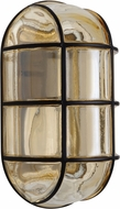 Costaluz 396156 3961 Series Contemporary Black Outdoor Wall Light Sconce