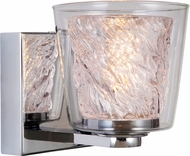 Craftmade 19305CH1-LED Bevi Contemporary Chrome LED Wall Sconce