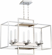 Craftmade 41526-CH Cubic Contemporary Chrome 30  Kitchen Island Lighting