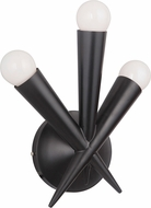 Craftmade 42263-GBK Nova Contemporary Gloss Black Wall Sconce Lighting