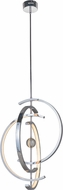 Craftmade 42722-CH-LED Anillo Contemporary Chrome LED Pendant Light