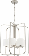 Craftmade 43536-BNK Clarendon Brushed Polished Nickel 22  Foyer Lighting Fixture
