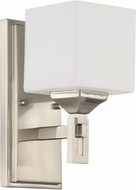Craftmade 43961-BNK Urbane Brushed Polished Nickel Wall Sconce Light