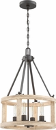 Craftmade 44094-CIDO Astoria Cast Iron Drum Pendant Lighting Fixture