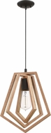 Craftmade 44591-ESP Gem Modern Espresso Mini Hanging Light Fixture