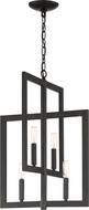 Craftmade 44934-ESP Portrait Contemporary Espresso Mini Chandelier Light