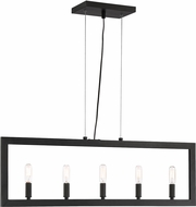 Craftmade 44975-ESP Portrait Modern Espresso Island Lighting