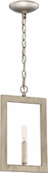 Craftmade 44991-GT Portrait Modern Gold Twilight Mini Drop Ceiling Light Fixture