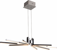 Craftmade 45728-CH-LED Pinnacle Contemporary Chrome LED Island Lighting