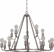 Craftmade 45915-PLN Arc Modern Polished Nickel 35  Chandelier Light