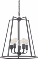 Craftmade 45935-OBG Arc Contemporary Oil Bronze Gilded 20  Foyer Light Fixture