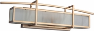 Craftmade 46000-BB Kodo Modern Brushed Bronze 2-Light Bathroom Vanity Light Fixture
