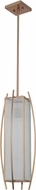 Craftmade 46031-BB Kodo Modern Brushed Bronze Mini Hanging Light