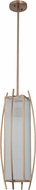 Craftmade 46031-BCP Kodo Contemporary Brushed Copper Mini Pendant Light Fixture