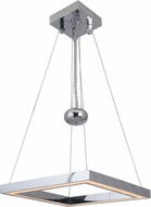 Craftmade 46131-CH-LED Balance Modern Chrome LED Pendant Lighting Fixture