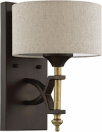 Craftmade 46361-ANGBZ Colonial Antique Gold / Bronze Lighting Wall Sconce