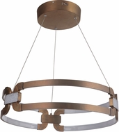 Craftmade 47290-PAB-LED Amulet Modern Patina Aged Brass LED Ceiling Light Pendant