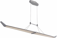Craftmade 47491-CH-LED Jetstream Contemporary Chrome LED Kitchen Island Lighting