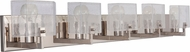 Craftmade 47605-PLN Trouvaille Contemporary Polished Nickel 5-Light Vanity Light