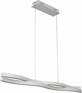 Craftmade 47770-W-LED Nimbelo Contemporary White LED Island Lighting