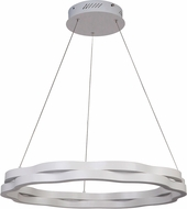 Craftmade 47790-W-LED Nimbelo Modern White LED 26  Pendant Lighting Fixture