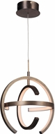Craftmade 47891-PAB-LED Dolby Contemporary Patina Aged Brass LED 14 Drop Lighting