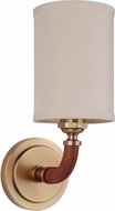 Craftmade 48161-VB Huxley Modern Vintage Brass Wall Sconce Lighting