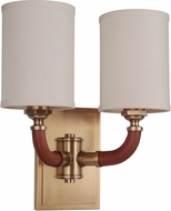 Craftmade 48162-VB Huxley Contemporary Vintage Brass Wall Light Fixture