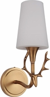 Craftmade 48261-VB Churchill Vintage Brass Lighting Wall Sconce
